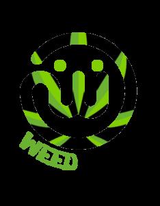 Weedoinit with Cannabis Logo
